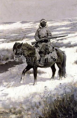 A Manchurian Bandit by Frederic Remington