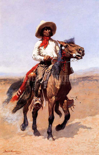 A Regimental Scout by Frederic Remington