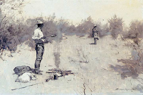 Hello Jose! by Frederic Remington