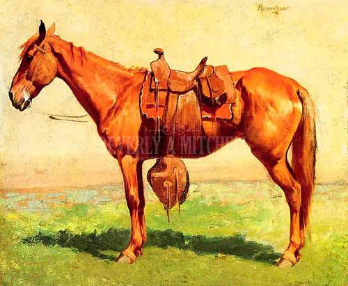 Cow Pony by Frederic Remington