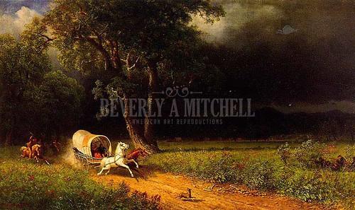 The Ambush by Albert Bierstadt