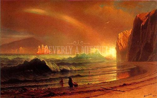 The Golden Gate by Albert Bierstadt
