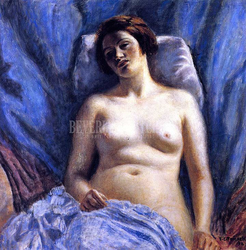 Nude #3 by Frederick Carl Frieseke