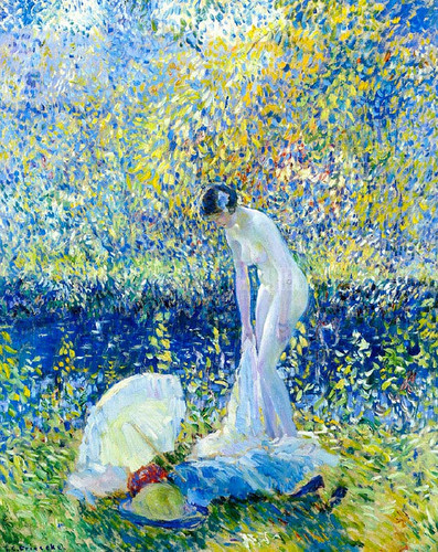Cherry Blossoms 1 by Frederick Carl Frieseke
