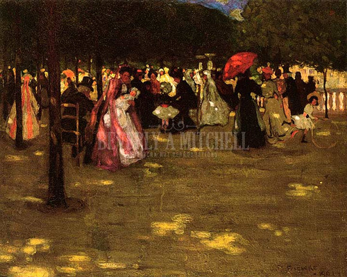 Luxembourg Gardens by Frederick Carl Frieseke