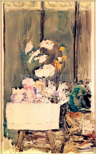 A Favorite Corner by Frederick Childe Hassam