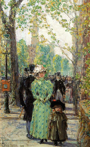 Sunday Morning by Frederick Childe Hassam