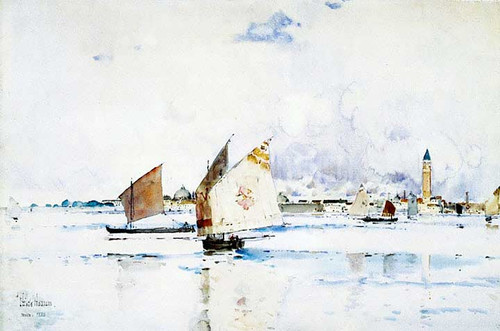 Venice by Frederick Childe Hassam