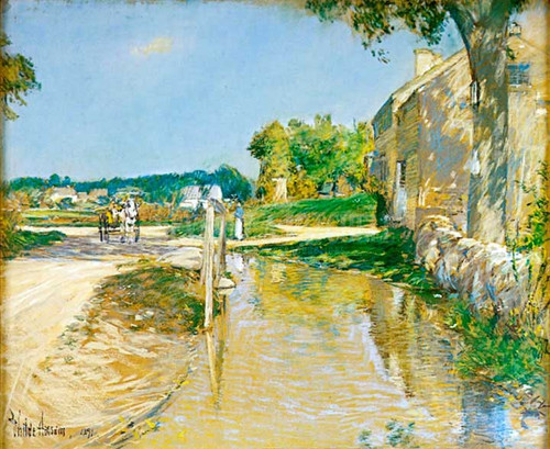 A Country Road by Frederick Childe Hassam