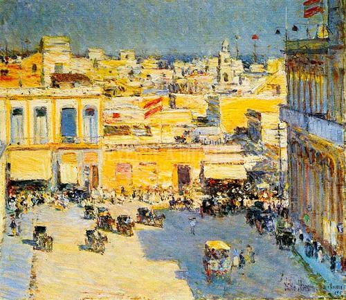 Havana by Frederick Childe Hassam