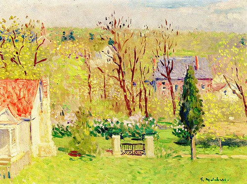 Falmouth In Spring by Gari Melchers