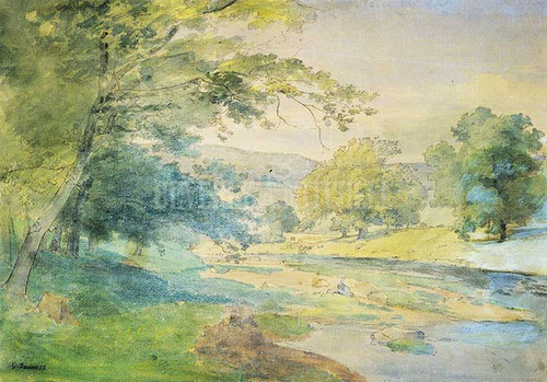 A June Afternoon by George Inness