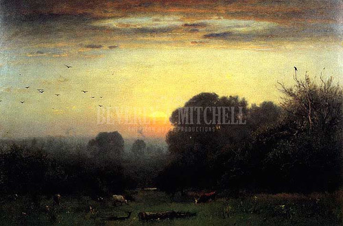 Morning by George Inness
