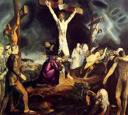 The Crucifixion by George Wesley Bellows