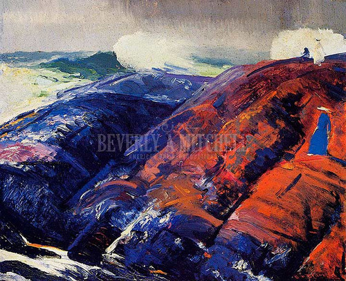 Summer Surf by George Wesley Bellows