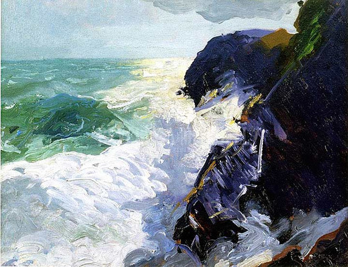Sun And Spray by George Wesley Bellows