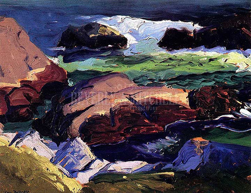 Sun Glow by George Wesley Bellows