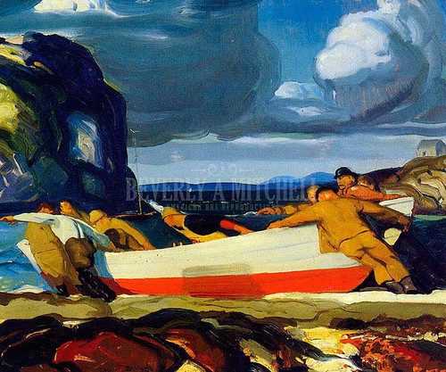 The Big Dory by George Wesley Bellows