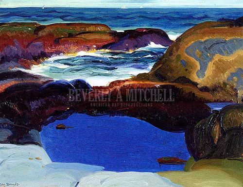 The Blue Pool by George Wesley Bellows