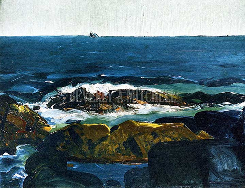 The Rich Water by George Wesley Bellows