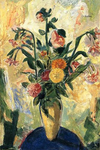 Floral Still Life3 by Alfred Henry Maurer