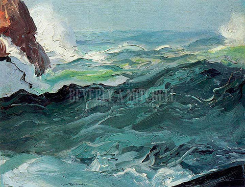 Wave by George Wesley Bellows