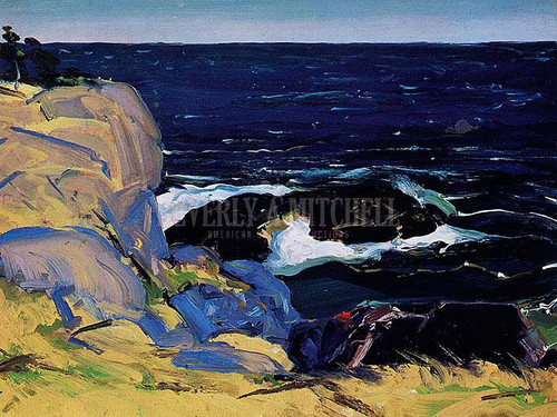 West Wind by George Wesley Bellows