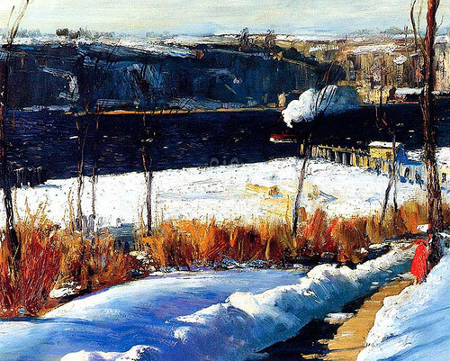 Winter Afternoon by George Wesley Bellows