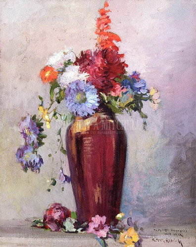 Floral Still Life by Georges Ames Aldrich