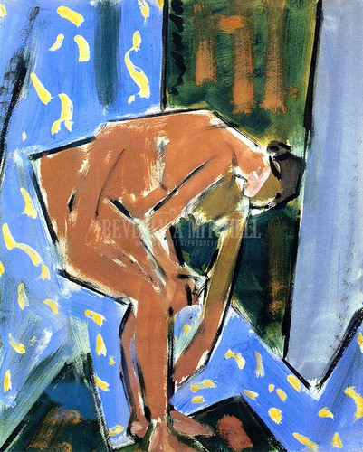 Nude Reading by Alfred Henry Maurer