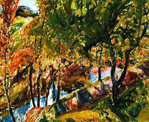 Fauve Landscape3 by Alfred Henry Maurer