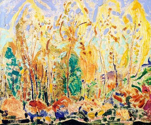 Fauve Landscape by Alfred Henry Maurer