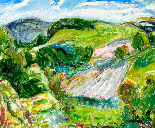 Fields by Alfred Henry Maurer