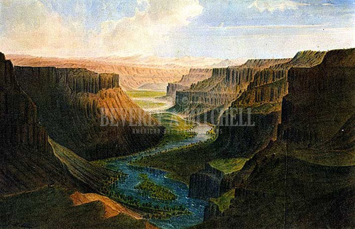 Grand Canyon Of Palouse River by James Madison Alden