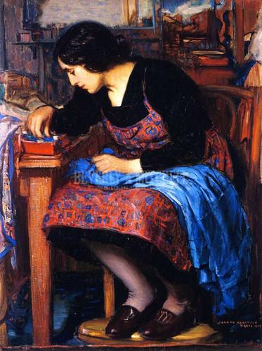 Blue Thread by Joseph Kleitsch