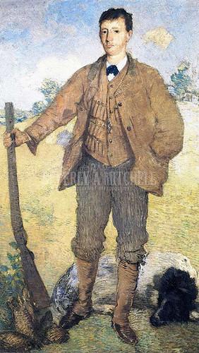 The Hunter by Julian Alden Weir