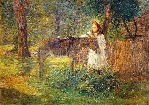 After The Ride by Julian Alden Weir
