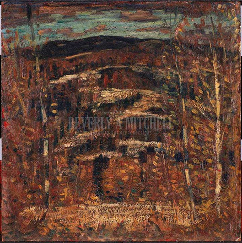 After Snow by Marsden Hartley