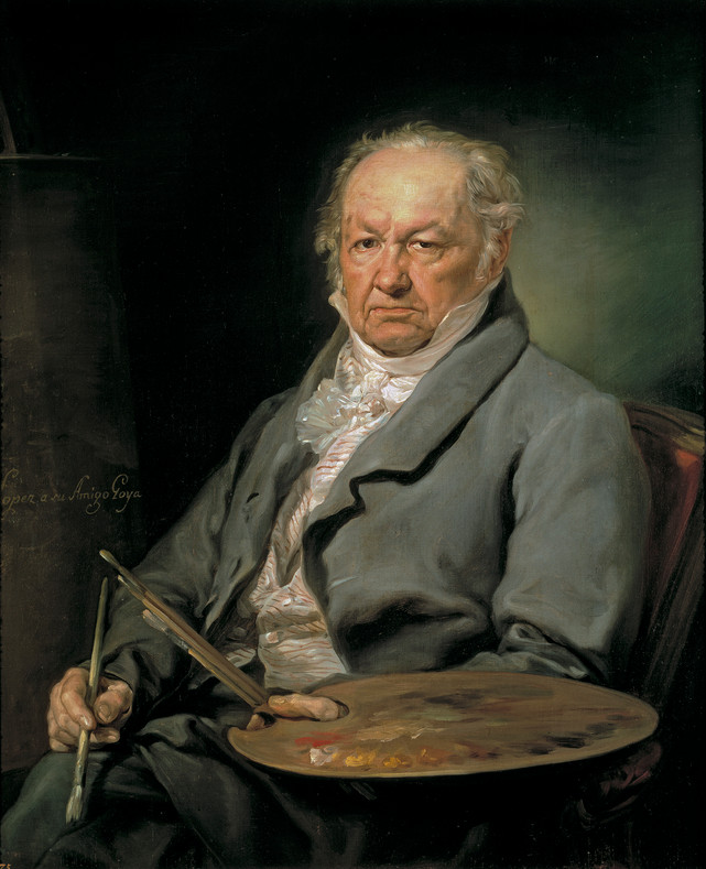 Francisco de Goya - (30 March 1746 - 16 April 1828 (aged 82))
