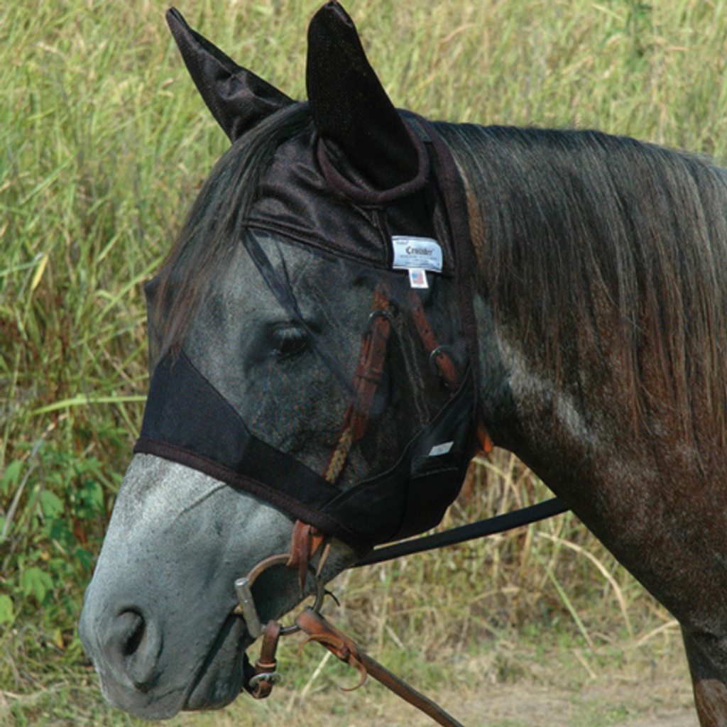CASHEL QUIET RIDE STANDARD WITH EARS FLY MASK