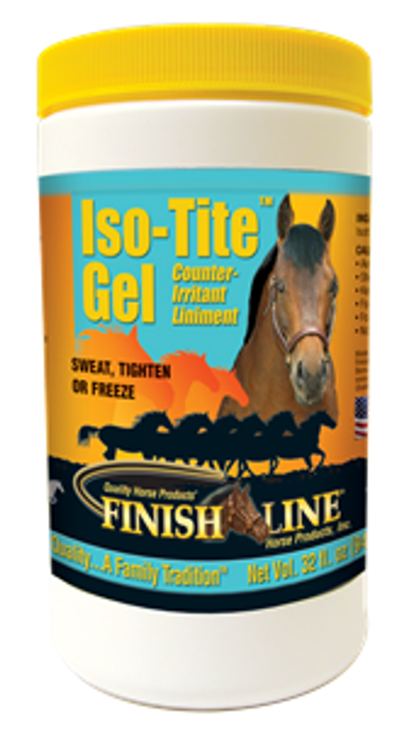FINISH LINE ISO-TIGHT LINIMENT GEL 32 OZ