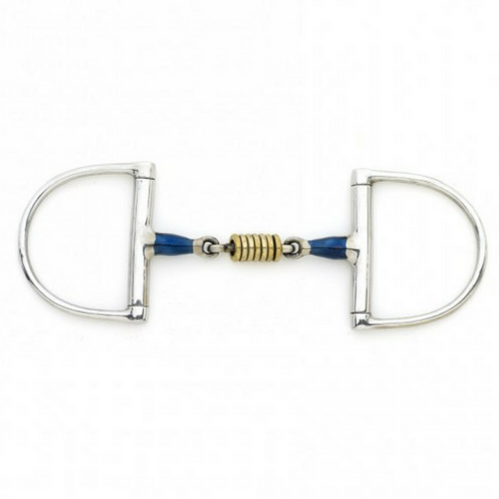 CENTAUR BRASS ROLLER BLUE ALLOY DEE RING BIT
