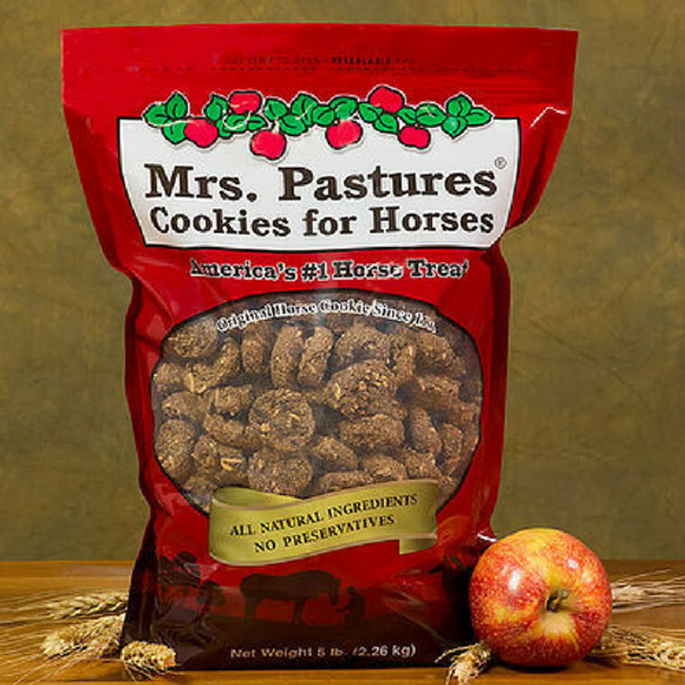 MRS. PASTURES COOKIES FOR HORSES 5 LB