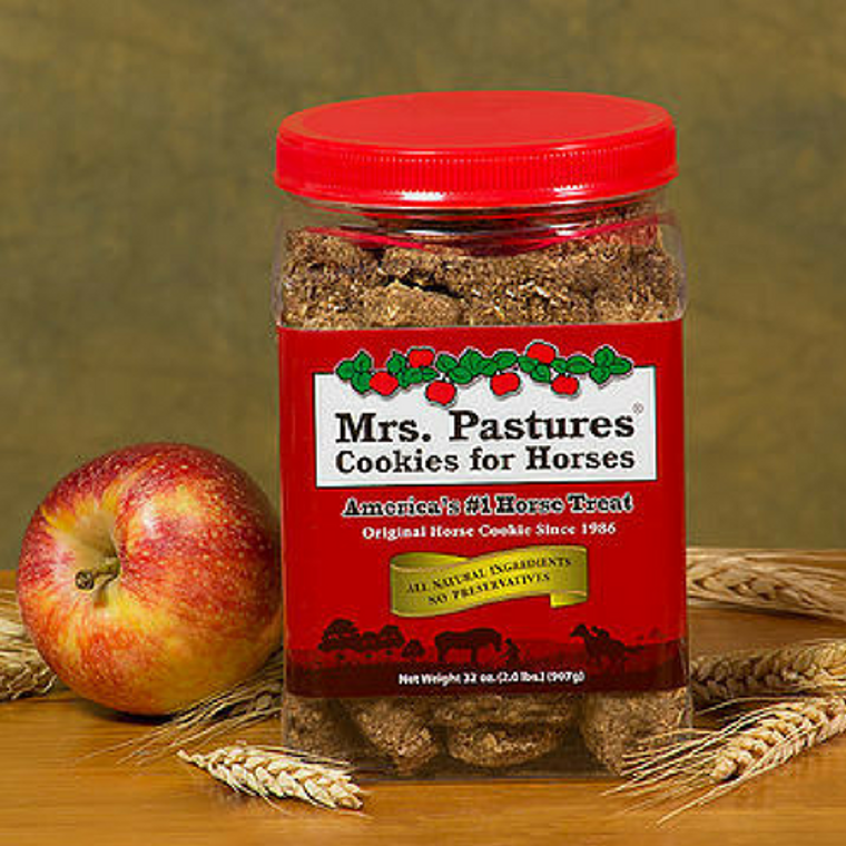 MRS. PASTURES COOKIES FOR HORSES 32 OZ