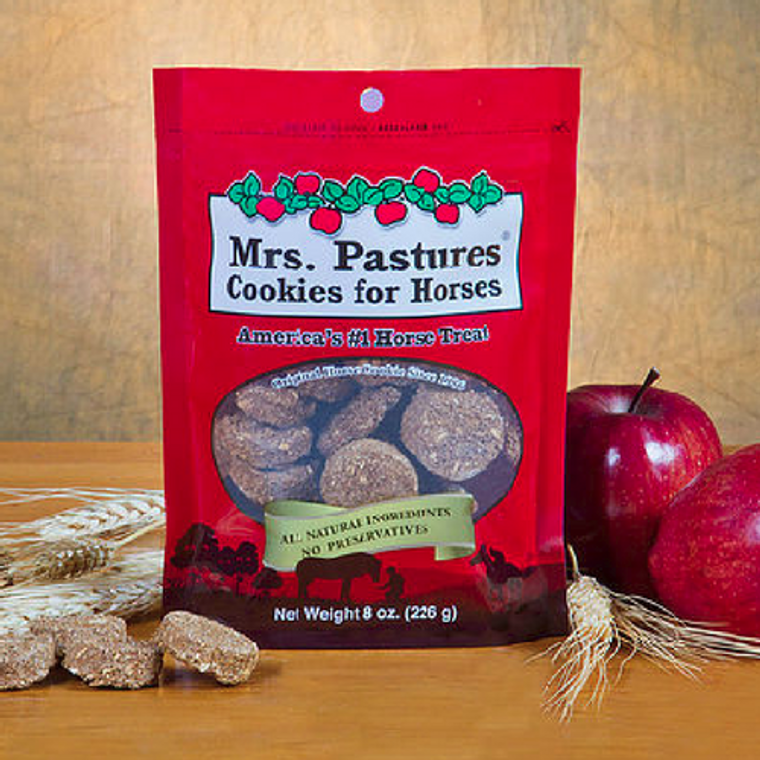 MRS. PASTURES COOKIES FOR HORSES 8 OZ