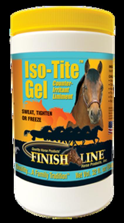 FINISH LINE ISO-TIGHT LINIMENT GEL 32 OZ