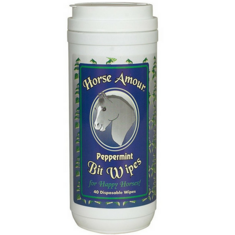 HORSE AMOUR PEPPERMINT BIT WIPES