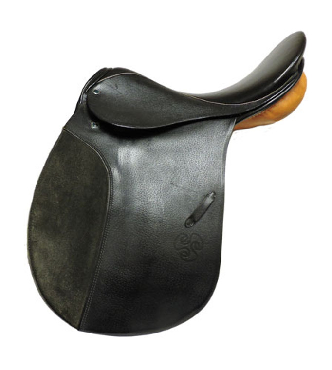"17"" STUBBEN SIEGFRIED VSD DRESSAGE SADDLE – D20840"