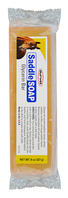 GLYCERINE BAR SADDLE SOAP 8 OZ