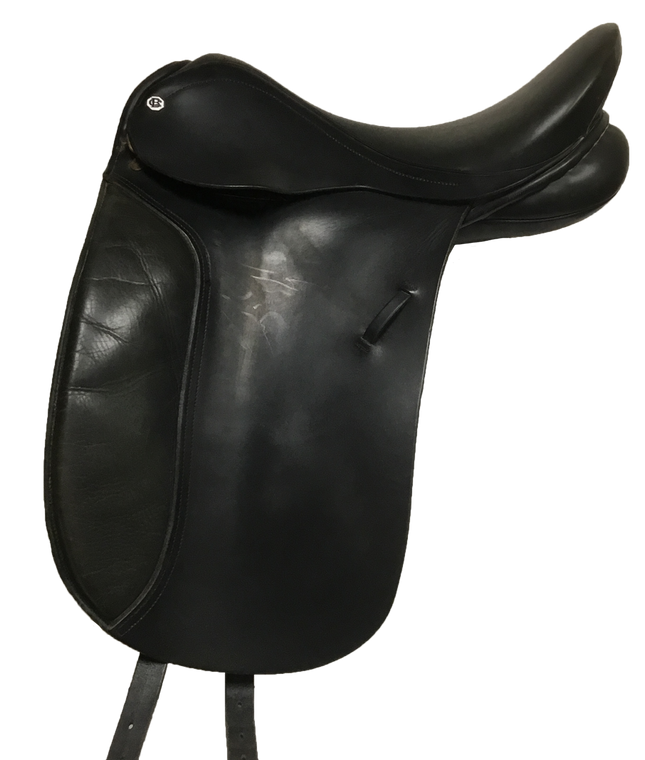 "17 3/4"" BARNSBY DRESSAGE SADDLE - D20902"